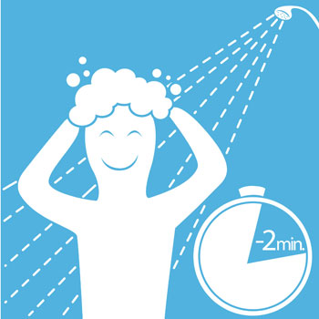 Image result for shower with less