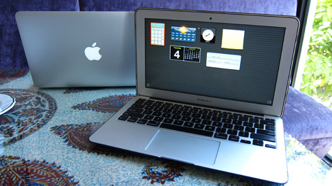 how to find how much a macbook air holds