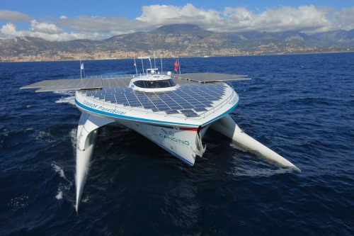 world s biggest solar powered boat makes manila stopover scitech