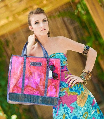New Eco Chic Bags Are Made Of Water Lily Leather Lifestyle Gma News Online