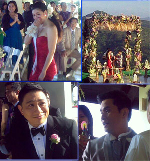 Pep Ogie And Regine Are Now Officially Husband And Wife