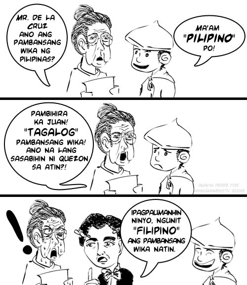 isyu sa wikang filipino Enter here:    wikang filipino 2001 komisyon ng wikang filipino 3 barayti ng wikang filipino 8 main.
