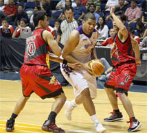 Cardona not working; Alaska's new style and Gabe Norwood's slump