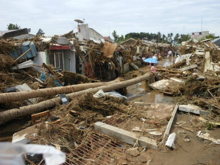 flood%20wrecked%20houses%20in%20Iligan%20City Tropical storm Sendong is one deadliest cyclones to hit the Philippines in the last 12 years