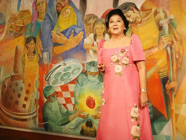 Malacañang: Imelda\'s gowns, shoes have no historical significance ...