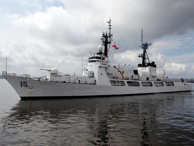 Phl Navys 2nd Hamilton Class Ship Begins Journey To New Home Port