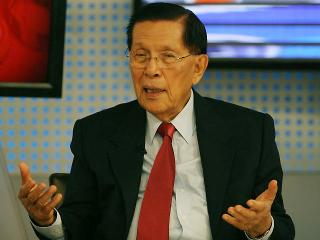 Sen. Enrile talks about key moments in historic impeachment trial