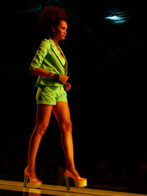 Dare to make a statement and unearth your wild side with neon colors.	After watching the repertoire, I realized there was more to this collection than its endorsers. Penshoppe provided a spectrum of