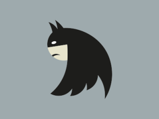 The new Twitter logo looks like Batman!