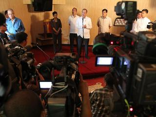 PNoy in Davao ARMM meet, talks about missing Jordanian journalist