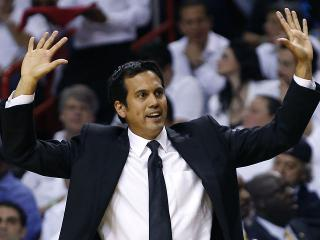 Erik Spoelstra, Fil-Am coach of the Miami Heat, leads team to title