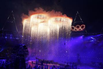 London Olympics opening ceremonies