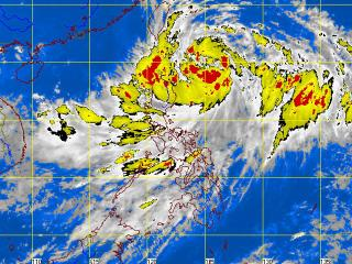 Satellite image of Gener as of 8:32 a.m. Monday