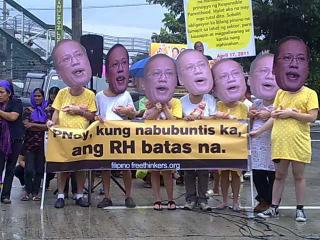On SONA day, activists call for passage of RH bill