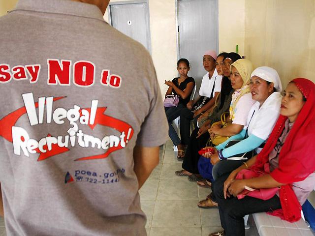 Resulta ng larawan para sa illegal recruitment