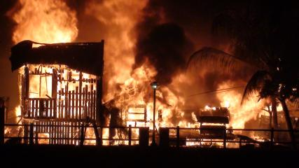 Fire in Ormoc reduces over 50 homes to ashes