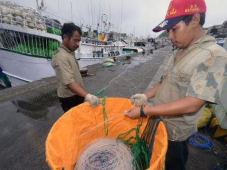Pinoy fishermen in Taiwan prepare for Gener