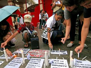 Students cry justice for San Beda frat hazing victim