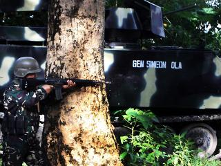 Troops clash with rogue MILF rebels in Maguindanao