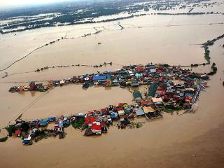 Land has turned to sea in Bulacan after days of rain