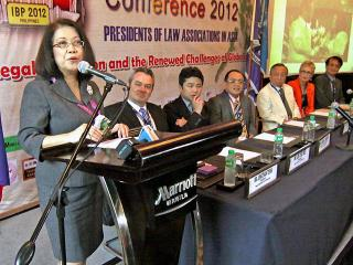 CJ Sereno vows judicial reform at law meeting