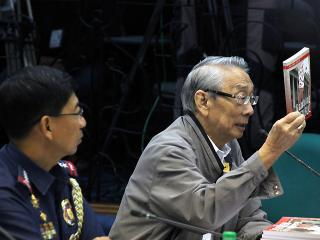 Archbishop Cruz testifies at Senate probe of jueteng