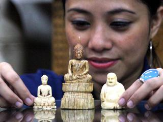 Ivory carvings a lucrative trade in Manila