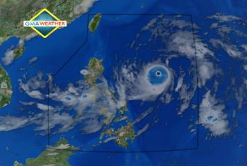 Annular Super Typhoon Karen (Sanba) as of 8am, 14Sept2012