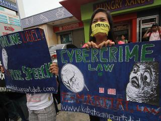 Davao netizens protest vs anti-cybercrime law