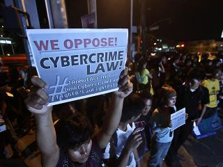 Anti-cybercrime law protests in Davao grow
