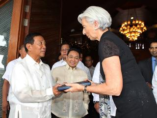 IMF grateful to PHL for $1B contribution