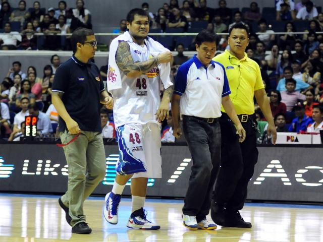 JR Quinahan, Rain or Shine Elasto Painters