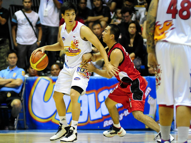 Chris Tiu, Rain or Shine Elasto Painters