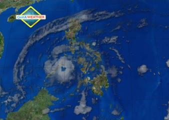 Satellite image as of 8 am, Dec. 5