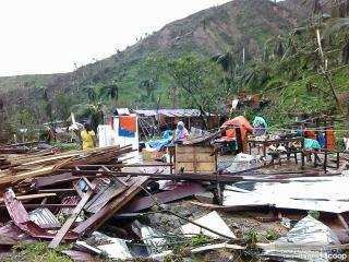 Pablo flattens homes in Northern Mindanao