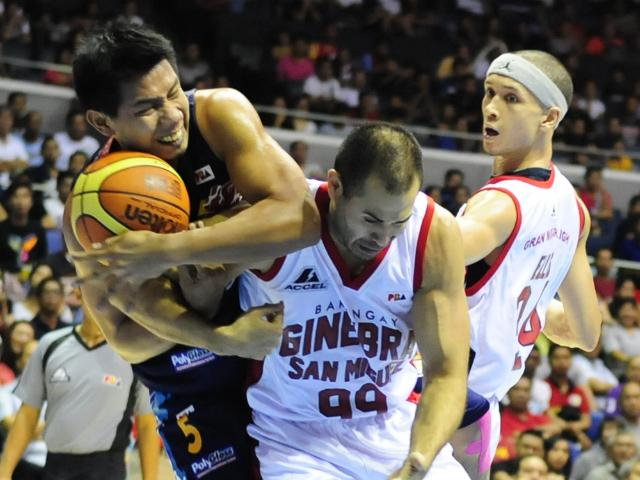 Larry Rodriguez, Rain or Shine Elasto Painters