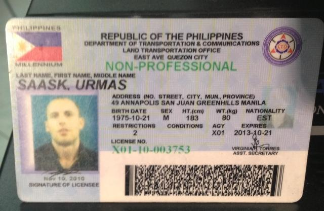 Down Promises Crack Counterfeiters Driver's License On Along To Online News Recto Gma Lto Avenue