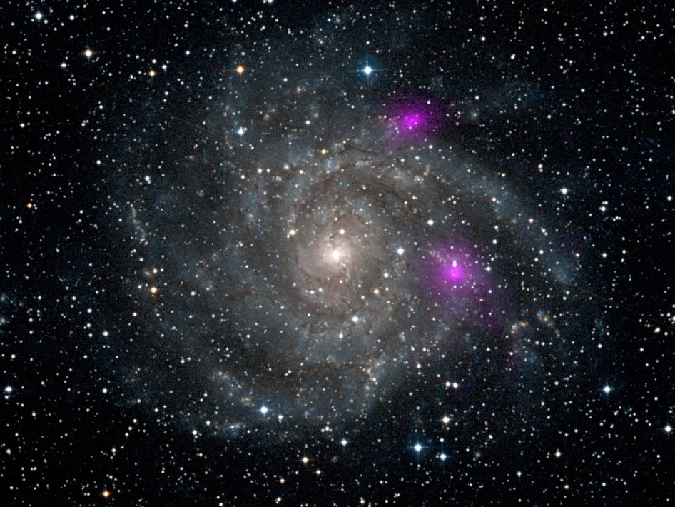 NASA finds two black holes in nearby galaxy | SciTech ...