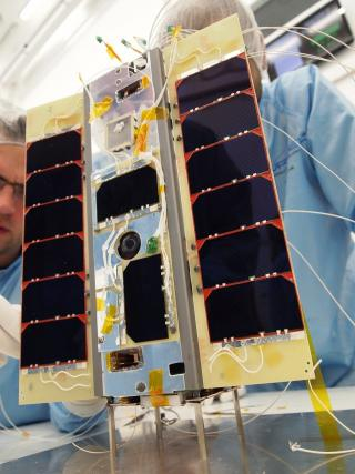 Worlds first smartphone-powered satellite