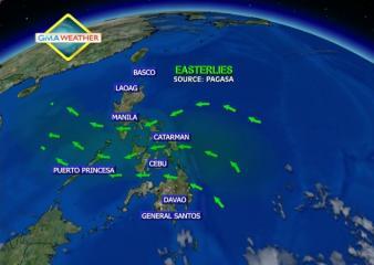 Satellite image at 7 a.m., 7 Feb 2013