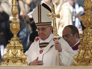 Respect environment, Pope Francis tells world in inaugural mass