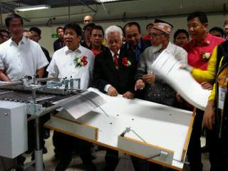 Comelec, Palace officials witness printing of last ballot