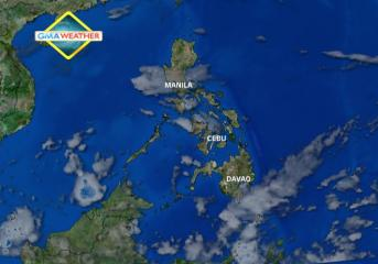 Satellite Image as of 7:30 a.m, 9 May 2013