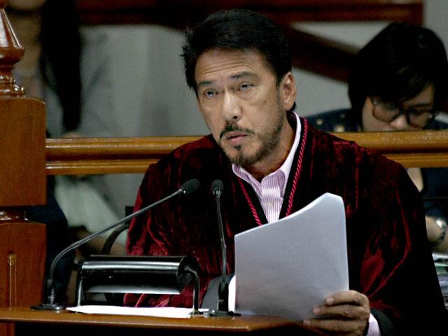 Jim Paredes Tutulungan Ng Pnp: Sotto, Inireklamo Sa Senate Ethics Committee; Senador