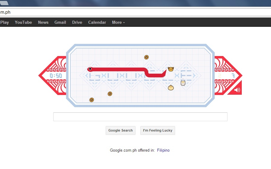 Play Google Doodle Games Snake | Games World